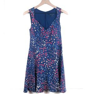 French Connection Frances Berry Blue Dress